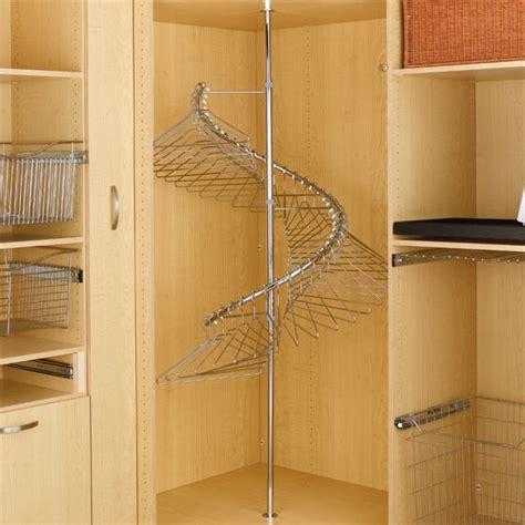 rev a shelf spiral clothes rack in chrome finish