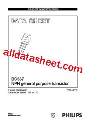 transistor bc337 datasheet pdf bc337 40 datasheet pdf nxp semiconductors
