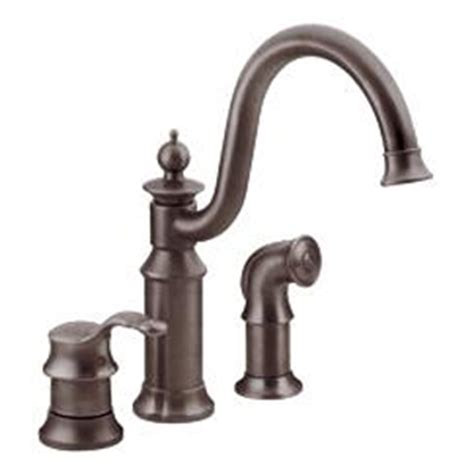 Moen Waterhill Kitchen Faucet Moen Showhouse S711orb Waterhill Single Handle Kitchen Faucet With Matching Side Spray