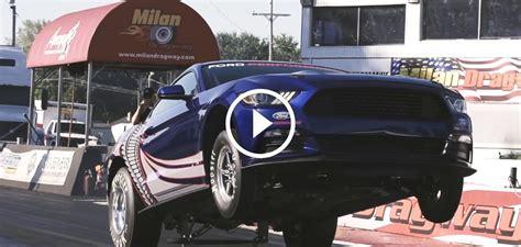 2015 cobra jet mustang 2016 ford cobra jet mustang drag racer at sema 2015