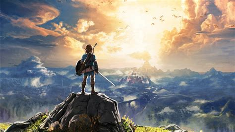 legend  zelda breath   wild  wallpapers hd