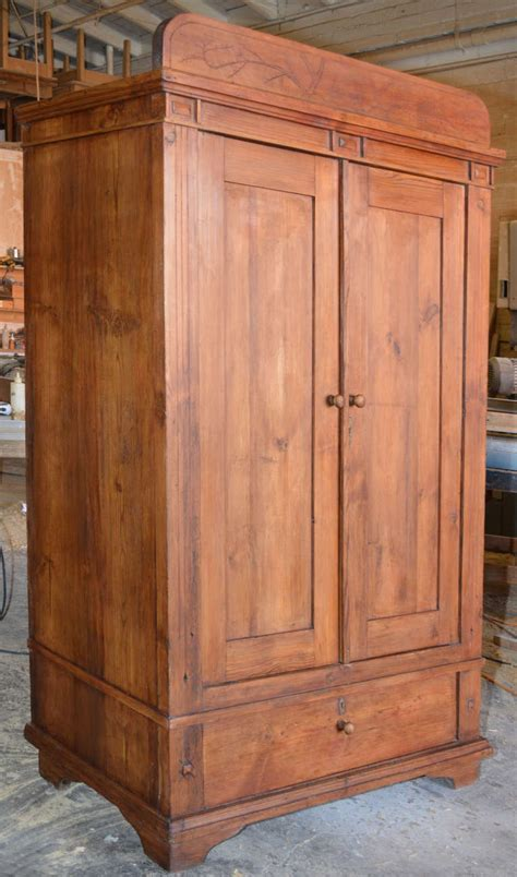 art nouveau armoire art nouveau armoire with spacious drawer for sale at 1stdibs