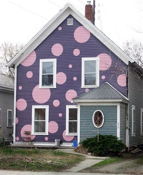 House Of Color Purple by Polka Dot Houses Hirshfield S Color Club