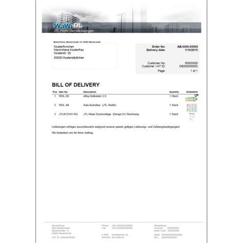 Rechnung Englisch Charge Jtl Wawi Druckvorlage Englisch Design 04 Lieferschein Wawi Dl 25 00