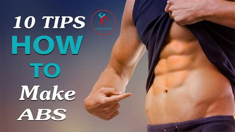 10 Tips On How To Give A by एब स प न क 10 तर क 10 Tips For How To Make Abs