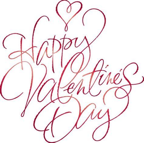 happy valentines day pretty cursive letters