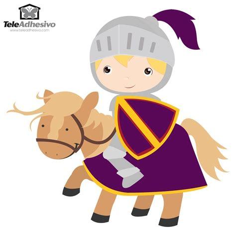 infantil de gracia caballeros medievales vinilo infantil caballero morado