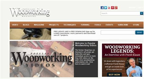 popular woodworking subscription 25 best woodworking blogs for 2016
