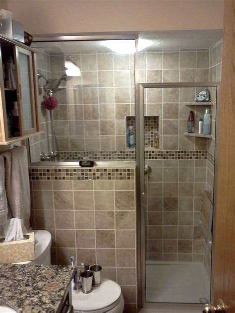 Bathroom Tub To Shower Remodel Bathroom Remodel Conversion From Tub To Shower With Privacy Wall Residential Projects