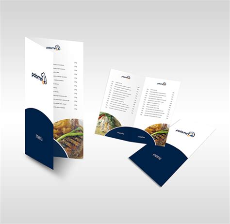 restaurant brochure design exles 101greatbrochures of