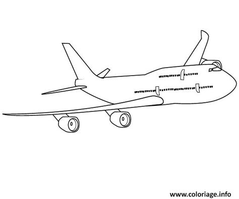 787 Coloring Page by Coloriage Avion 45 Dessin