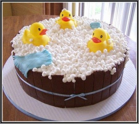 Rubber Ducky Baby Shower Ideas For A Boy by Rubber Duck Baby Shower Cake Ideas Pat A Cke