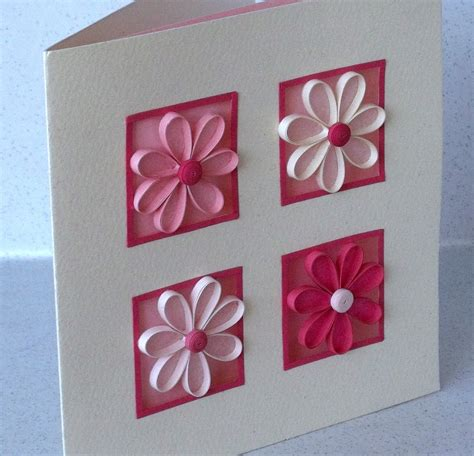 Easy Handmade Paper - quilling ideas the card i want to show you today is one