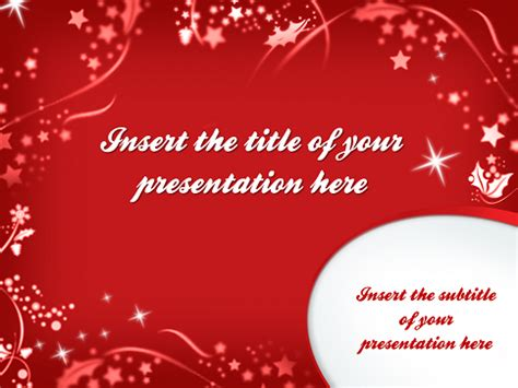 merry powerpoint template merry template for powerpoint and impress