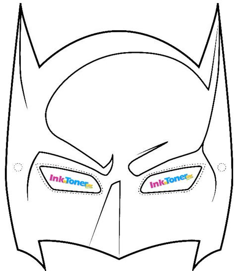 How To Make Batman Mask Out Of Paper - inkntoneruk the news on printers printer