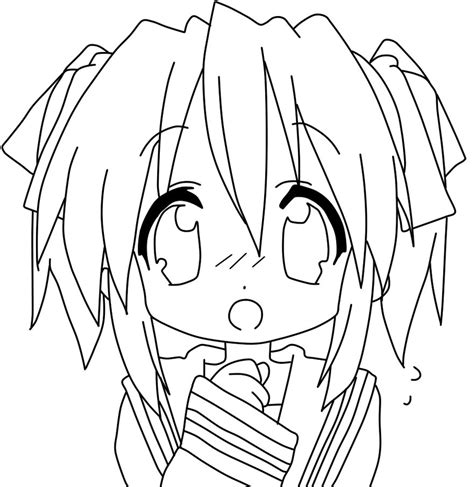 Printable Anime Coloring Pages 9 Chibi Anime Girl Coloring Anime Coloring Pages