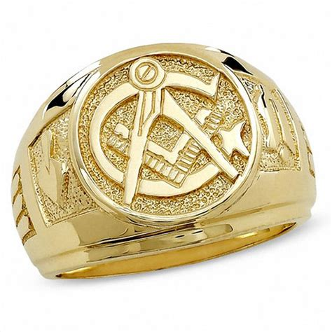 s masonic ring in 10k gold exclusives