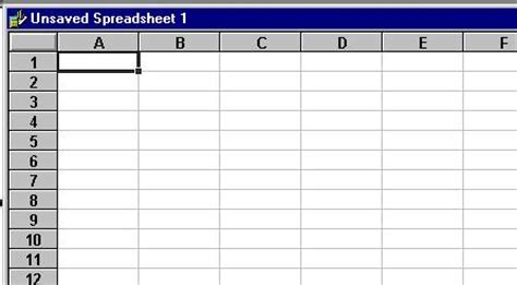 microsoft works spreadsheet templates spreadsheet introduction using microsoft works