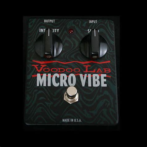 voodoo lab micro vibe pedal voodoo lab micro vibe pedal reverb