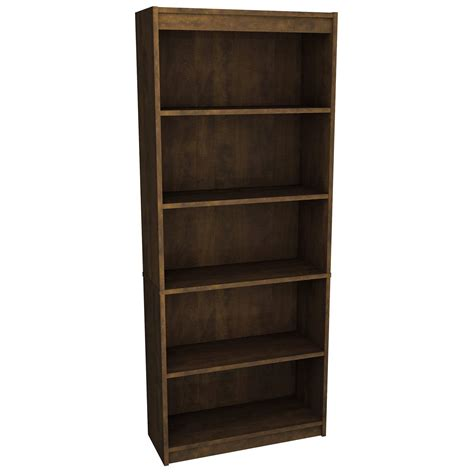 Walmart Bookcases Bestar Prestige Modular 5 Shelf Bookcase Walmart Com