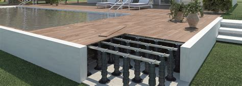 Tile Pedestals Pedestal Paver System Eterno Roof Deck Supports