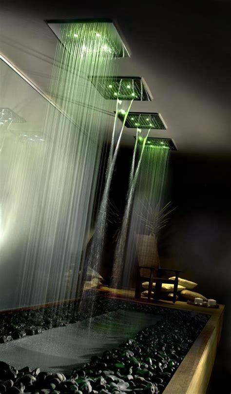 doccia con led colorati docce da sogno idee per l arredobagno