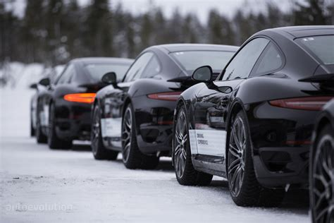 porsche driving porsche winter driving experience may the ice force be