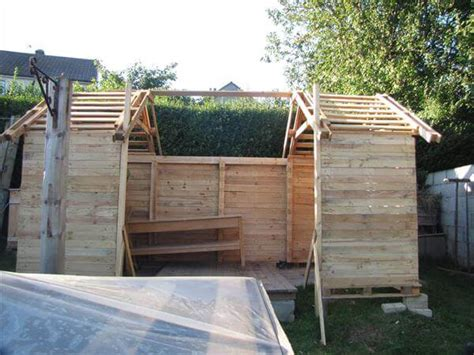 how to make a shed out of wood pallets top woodworking projects