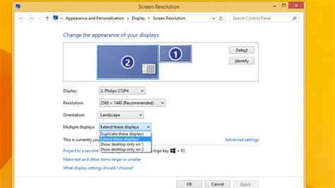 how to duplicate screen on multiple monitors tech advisor