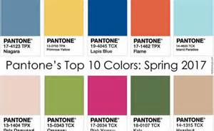 Top Colors 2017 Spring Summer 2017 Fashion Trends Top 10 Key Colors