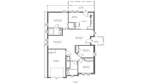 two bedroom house floor plans small house floor plan small two bedroom house plans