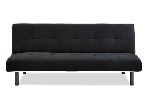 black sofa white piping xoom convertible sofa black w white piping by serta