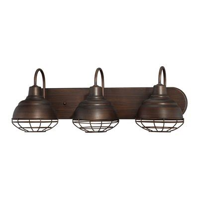 Industrial Bathroom Lighting Millennium Lighting 5423 Neo Industrial 3 Light Bathroom Vanity Light Lowe S Canada