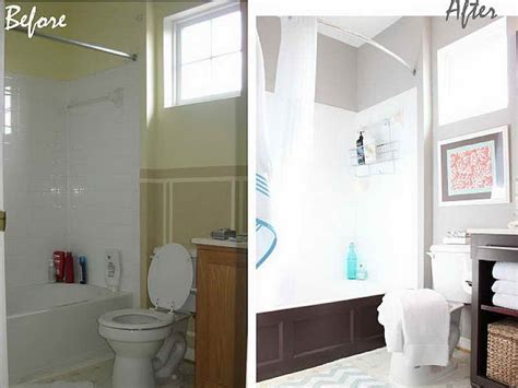 Bathroom Makeover Ideas On A Budget by Bathroom Small Bathroom Makeovers On A Budget Ideas