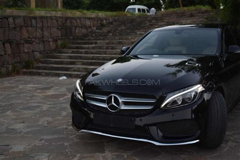 mercedes ads 2016 mercedes benz c class c180 amg 2016 for sale in islamabad