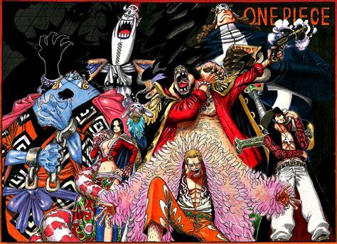 imagenes nuevas de one piece universo animang 225 os shichibukai de one piece