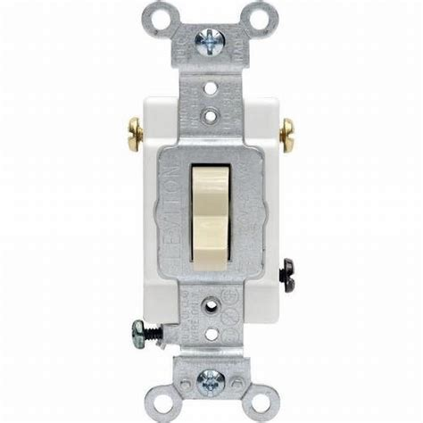 15 single pole light switch agri sales inc