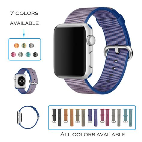 New Color Apple Woven Band Iwatch Series 1 2 3 urvoi band for apple series 3 2 1 woven