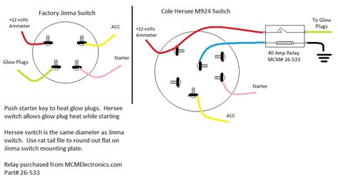 lucas tractor ignition switch wiring diagram 44 wiring