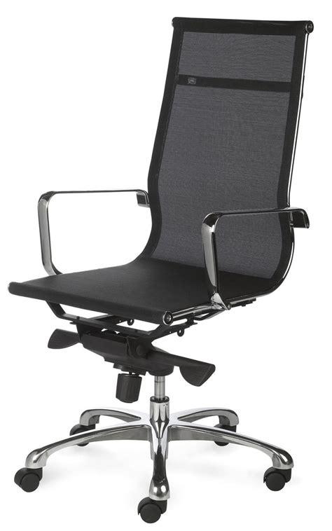 bureau fauteuil fauteuil de bureau design tout filet et chrom 233 saumur