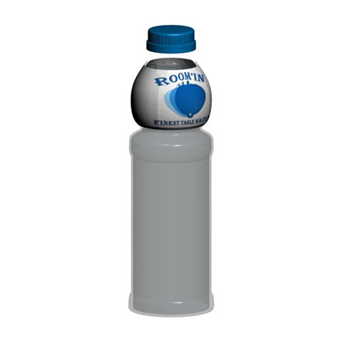 Decorate Water Bottle by Water Bottle Design And Decorate Your Room In 3d