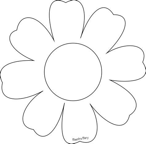 fiori da stare e ritagliare sagome per la primavera maestra con immagini fiori da