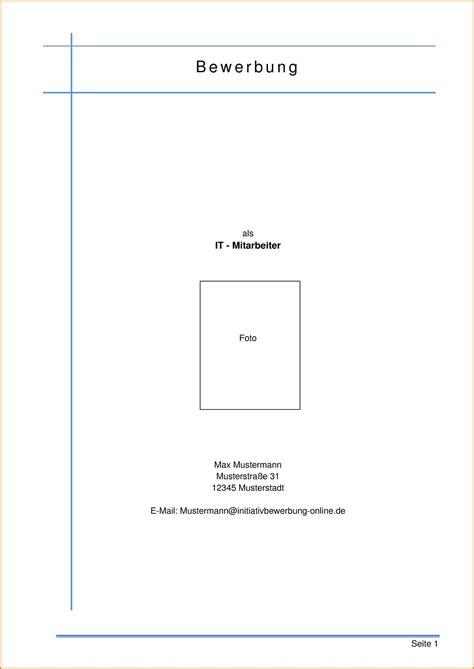 Lebenslauf Vorlage Deckblatt 10 deckblatt bewerbung pdf resignation format