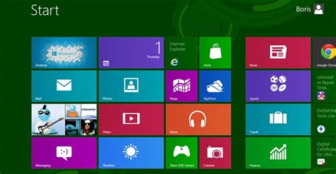how to change the number of rows on the windows 8 home screen