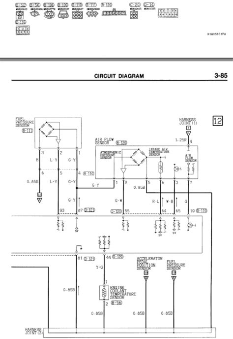 mitsubishi pajero nl wiring diagram wiring diagram with