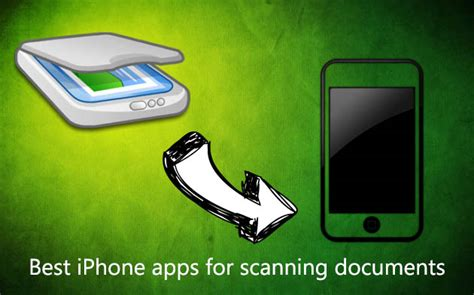 best scanning apps best document scanning apps for iphone genius scan doc