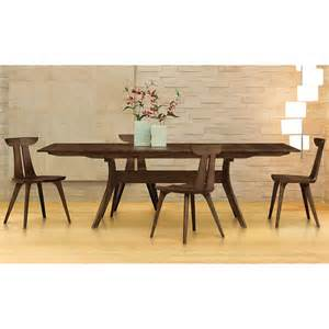 black walnut wood dining room table home