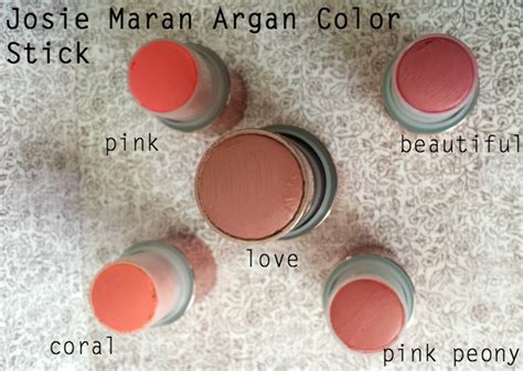 josie maran color stick review josie maran argan color stick makeup with a