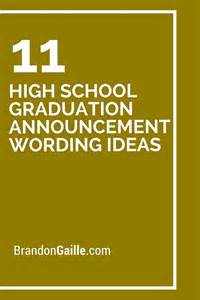 11 high school graduation announcement wording ideas graduation announcements wording