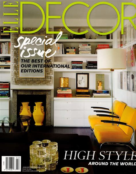 magazine room decor elle decor jan feb 2015 lmid inc